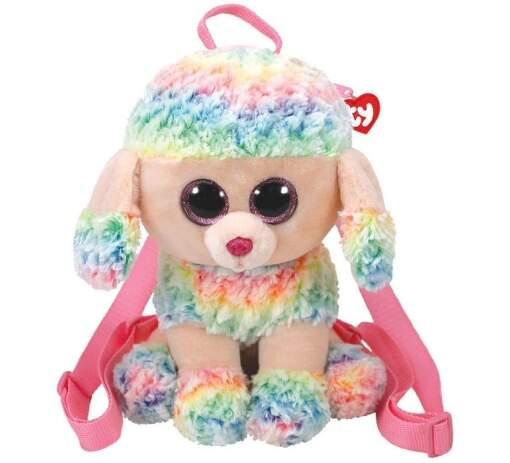 TY 95005 viacfarebný pudel RAINBOW detský batoh