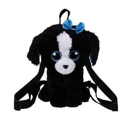 TY 95008 čierno-biely pes TRACEY detský batoh