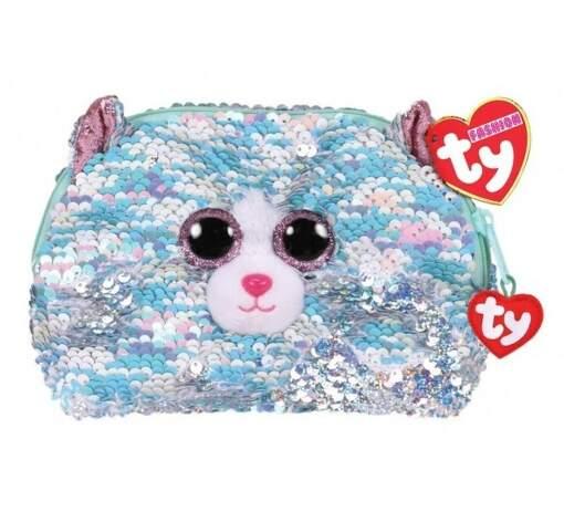 TY 95823 mačka WHIMSY detská flitrovaná taštička