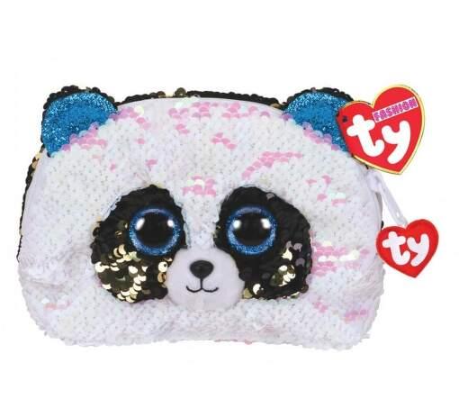 TY 95825 panda BAMBOO dětská flitrovaná taštička
