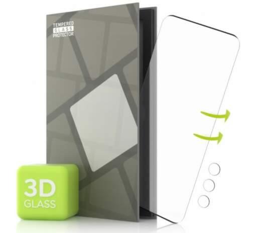 Tempered Glass Protector 3D ochranné sklo pre Samsung Galaxy S21 Ultra + sklo na kameru čierna