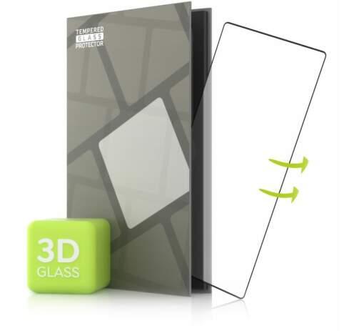 Tempered Glass Protector 3D ochranné sklo pre LG Wing čierna