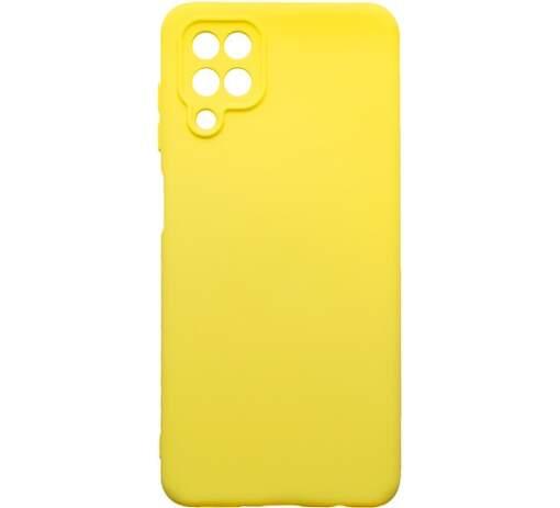 Mobilnet silikónové puzdro pre Samsung Galaxy A12 žlté