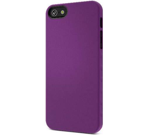 CYGNETT AeroGrip Feel pre iPhone 5, fialový