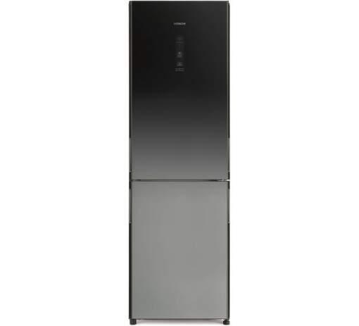 Hitachi R-BG410PRU6X-XGR, čierna kombinovaná chladnička
