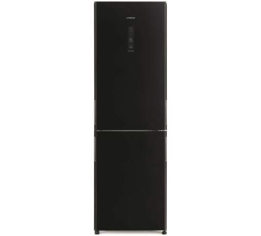 Hitachi R-BG410PRU6X-GBK, čierna kombinovaná chladnička