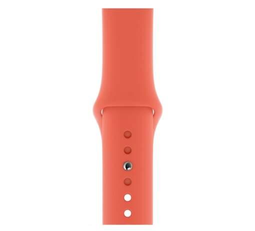 Apple Watch 40 mm športový remienok S/M a M/L, mandarínkový