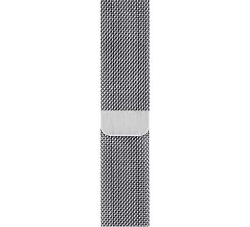 Apple Watch 44 mm milánsky ťah, strieborný