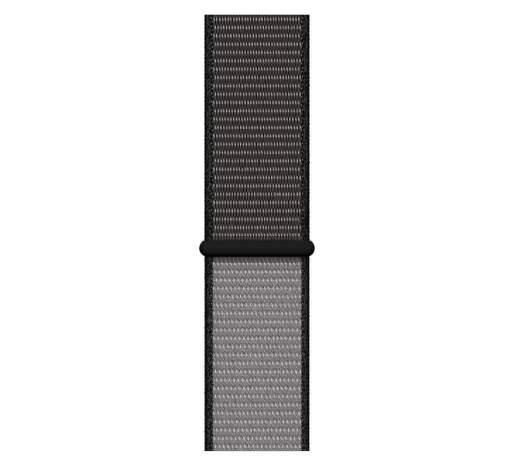 Apple Watch 44 mm športový prevliekací remienok extra veľký, čiernošedý
