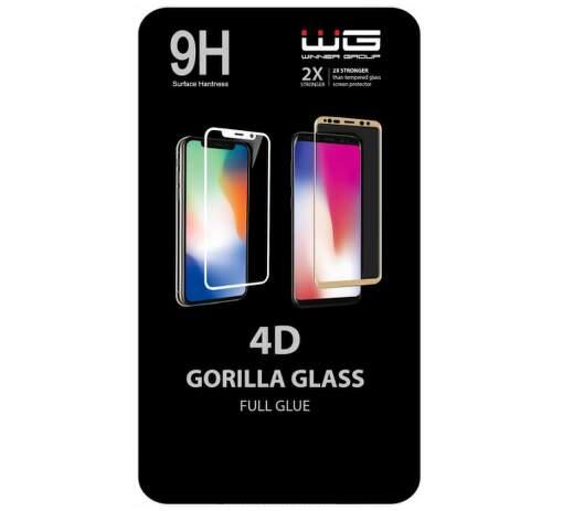 Winner 4D Full Glue tvrdené sklo pre Xiaomi Redmi Note 8 Pro, čierna