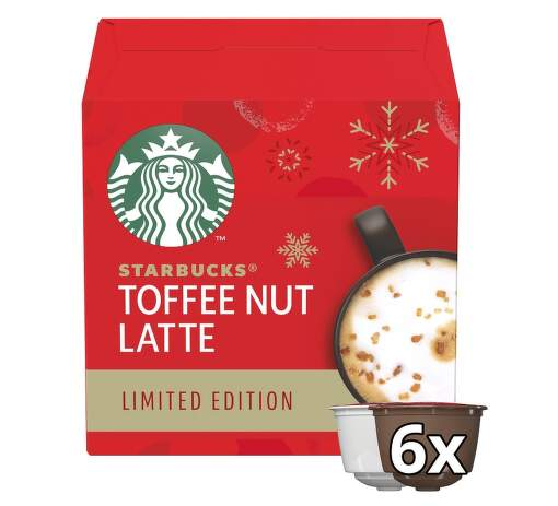 Starbucks® Toffee Nutt Latte