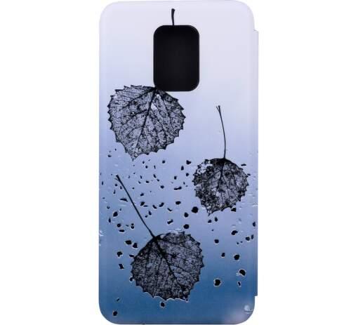 Winner Evo knižkové puzdro pre Xiaomi Redmi Note 9 Pro Leaves