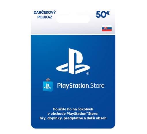 PlayStation Live Cards 50 EUR