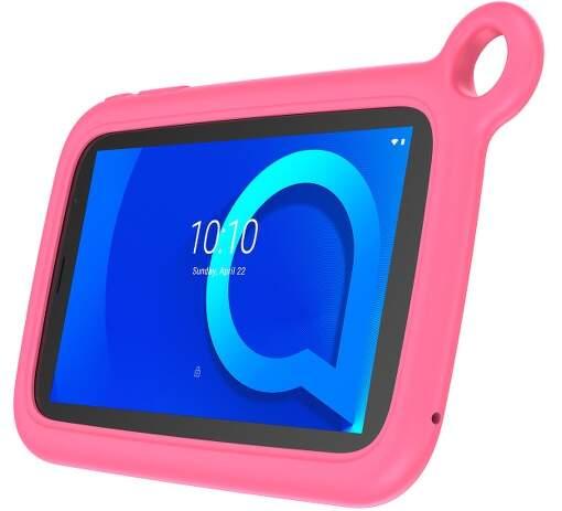 """Alcatel 1T 7"""" 2021 KIDS čierny tablet + ružové puzdro"""