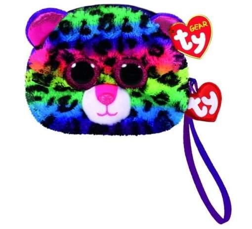 TY 95203 leopard DOTTY dětská taška na zápěstí