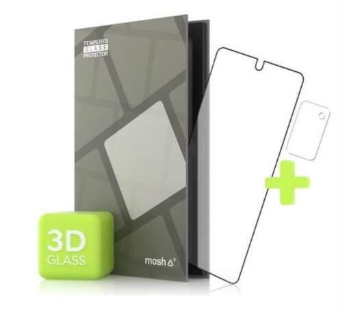 Tempered Glass Protector 3D ochranné sklo pre Samsung Galaxy Note 20 + sklo na kameru čierna