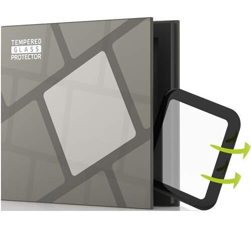 Tempered Glass Protector 3D tvrdené sklo pre Apple Watch 3 42mm čierna