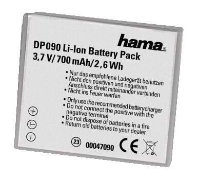 47090 HAMA Li-Ion NB-4L