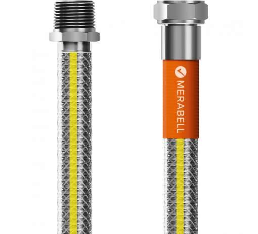 """Merabell Gas Profi R1/2"""" - G1/2"""" 75 cm plynová hadica"""