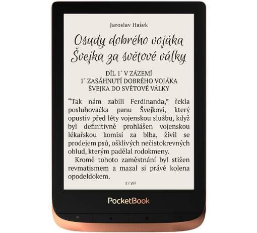 PocketBook 632 Touch HD 3 medená