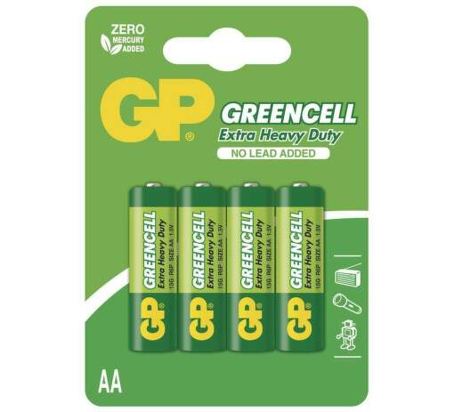 GP Greencell R6 AA B1221 4ks