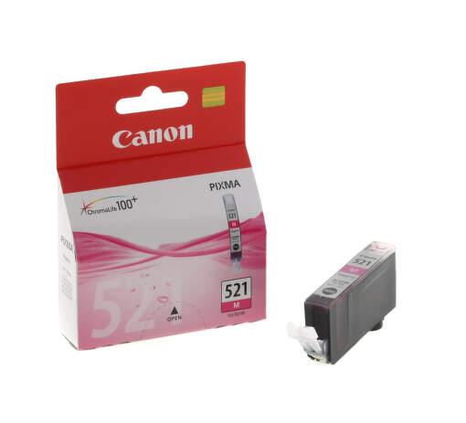 CANON CLI-521M, MAGENTA Ink Cartridge, BL SEC