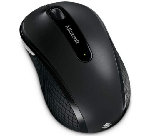 Microsoft Wireless Mobile Mouse 4000 (černá) - bezdrátová myš_1