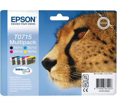 EPSON T0715 color (gepard) - atrament
