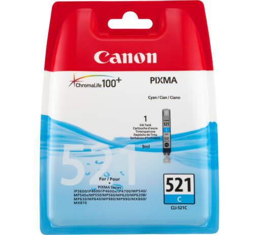 CANON CLI-521C cyan - atrament
