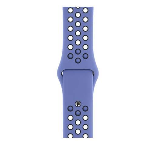 Apple Watch 40 mm Nike športový remienok S/M a M/L, noblesne modrý/čierny