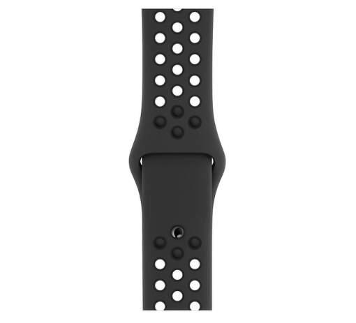 Apple Watch 40 mm Nike športový remienok S/M a M/L, antracitový/čierny