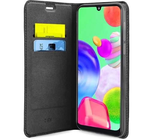 SBS knižkové puzdro pre Samsung Galaxy A42 5G, čierna