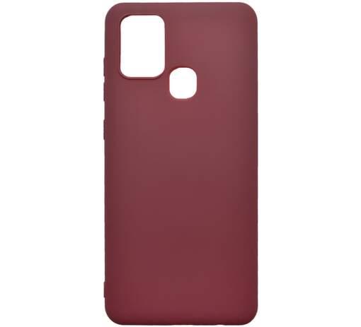 Mobilnet TPU puzdro pre Samsung Galaxy A21s bordová