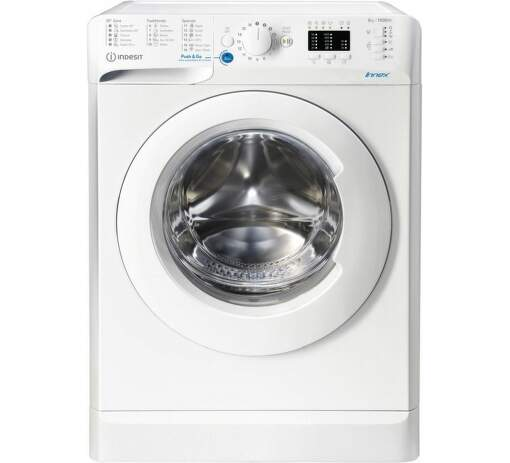 Indesit BWSA 51051 W EE N, biela práčka plnená spredu