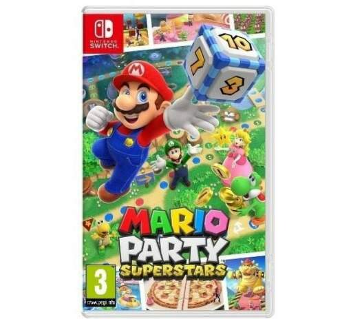 Mario Party Superstars - Nintendo switch hra