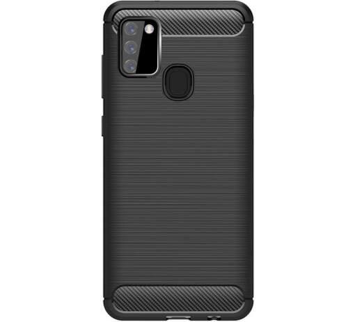 Winner Carbon puzdro pre Samsung Galaxy A21s čierna