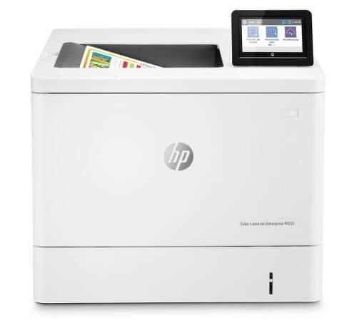 HP Color LaserJet Enterprise M555dn biela