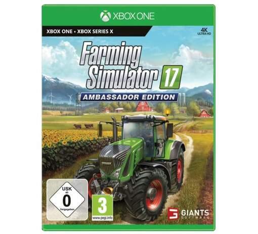 Farming Simulator 17: Ambassador Edition - Xbox One hra
