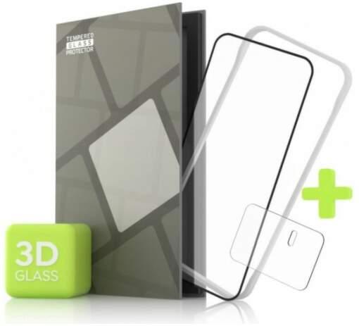Tempered Glass Protector 3D ochranné sklo pre Xiaomi Mi 11 Ultra + sklo na kameru čierna
