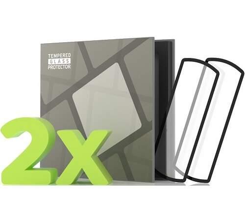 Tempered Glass Protector 3D tvrdené sklo 0,5 mm pre Honor Band 5 čierna (2 ks v balení)