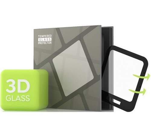 Tempered Glass Protector 3D tvrdené sklo pre Amazfit Bip U/Bip U Pro čierna