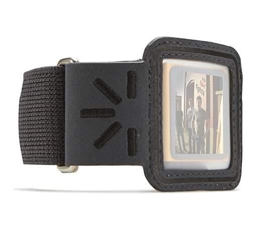 CASE LOGIC Ramenné TrueSport puzdro pre iPod Nano (čierna/šedá)