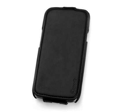 MUVIT STATUS kožené vyklápacie púzdro pre Apple iPhone 5