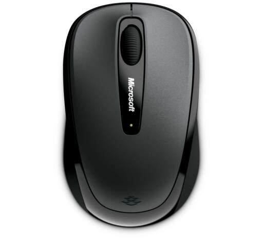 Microsoft L2 Wireless Mobile Mouse 3500 Black