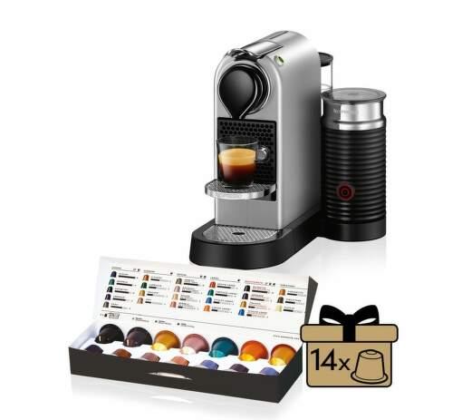 Nespresso Krups Citiz&Milk XN761B100 - kapsulový kávovar