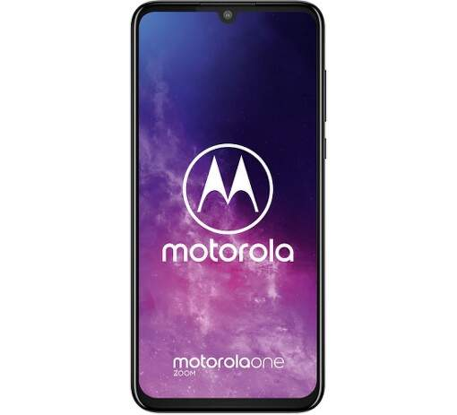 Motorola One Zoom sivý