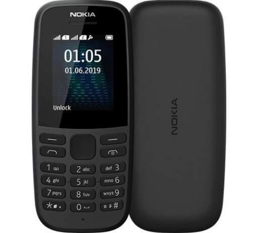 Nokia 105 Dual SIM 2019 čierny