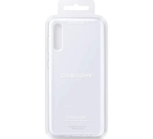 Samsung Clear Cover pre Samsung Galaxy A30s, transparentná