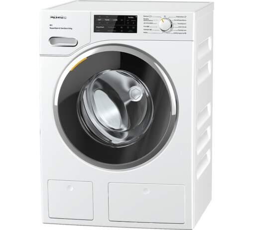 MIELE WWI860, biela smart práčka plnená spredu