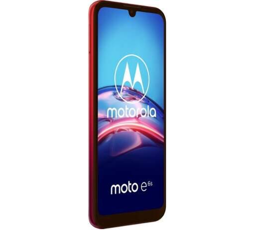 Motorola Moto E6s červený